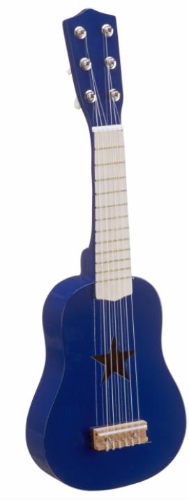 Kids concept guitar - blå , 3 stk. på lager fra Kids concept på pixizoo