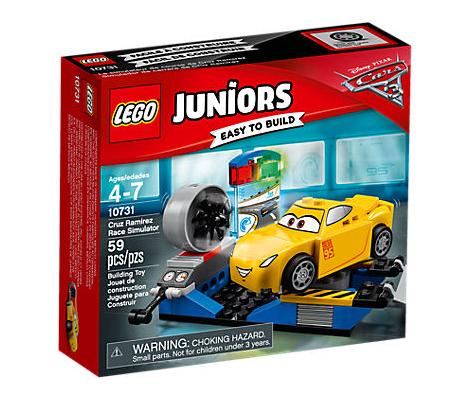 LEGO Juniors (10731) Cars 3 Cruz Ramirez Racersimulator