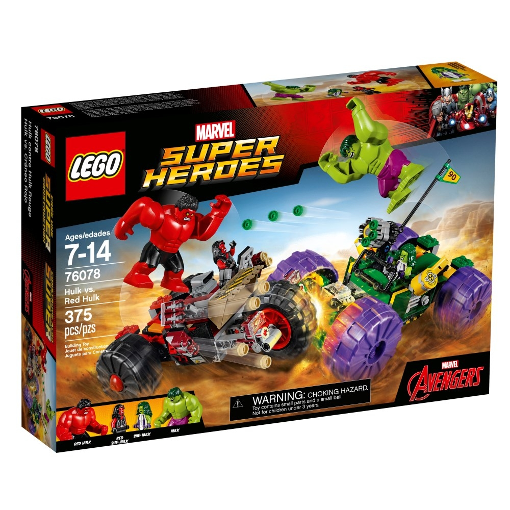 LEGO Super Heroes (76078) Hulk mot Red Hulk