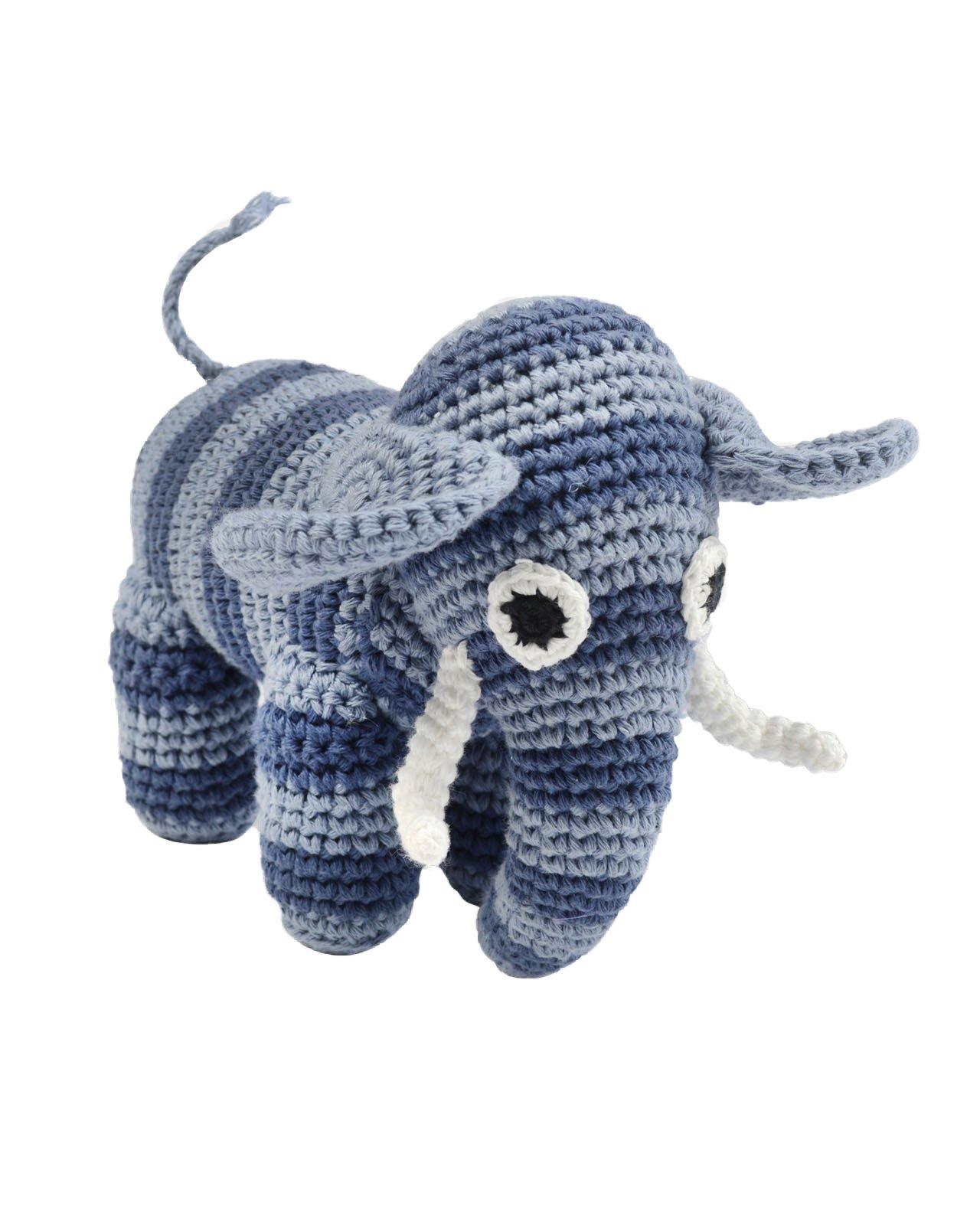 Smallstuff Mjukisdjur Elefant - Blå