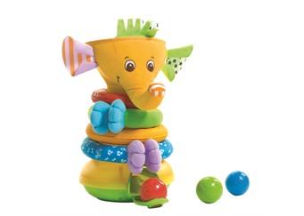 Tiny love musical stack ball game elephant, 1 stk. på lager fra Tiny love på pixizoo