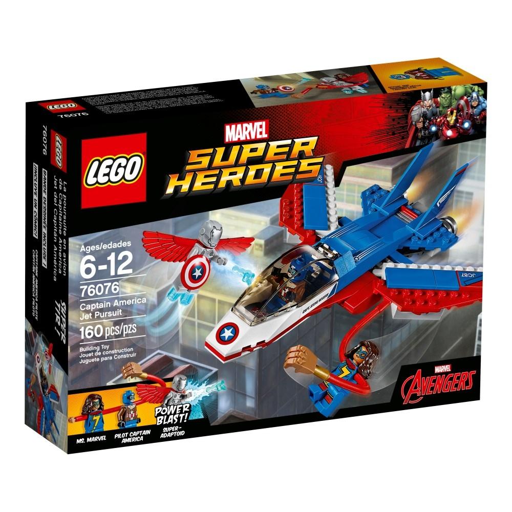 LEGO Super Heroes (76076) Captain America Jetjakt