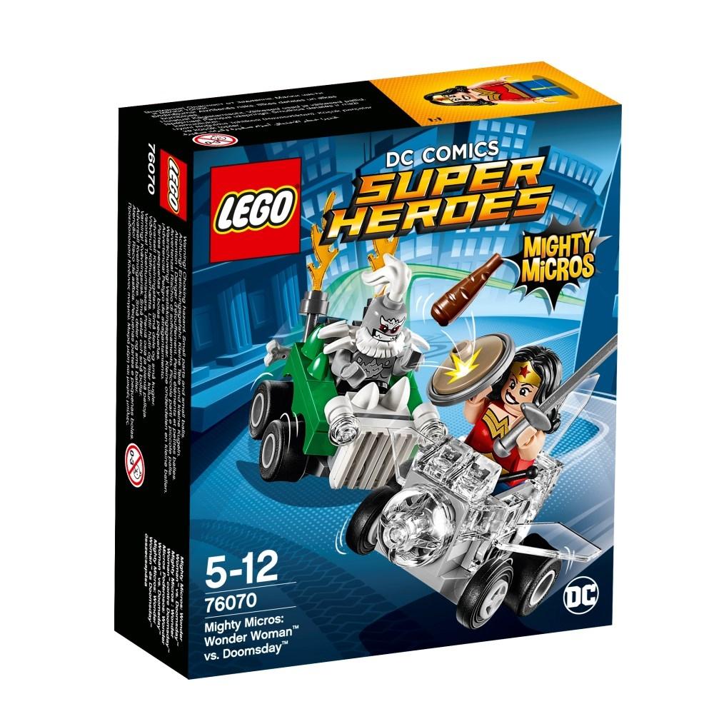 LEGO Super Heroes (76070) Mäktiga Mikromodeller: Wonder Woman mot Doomsday