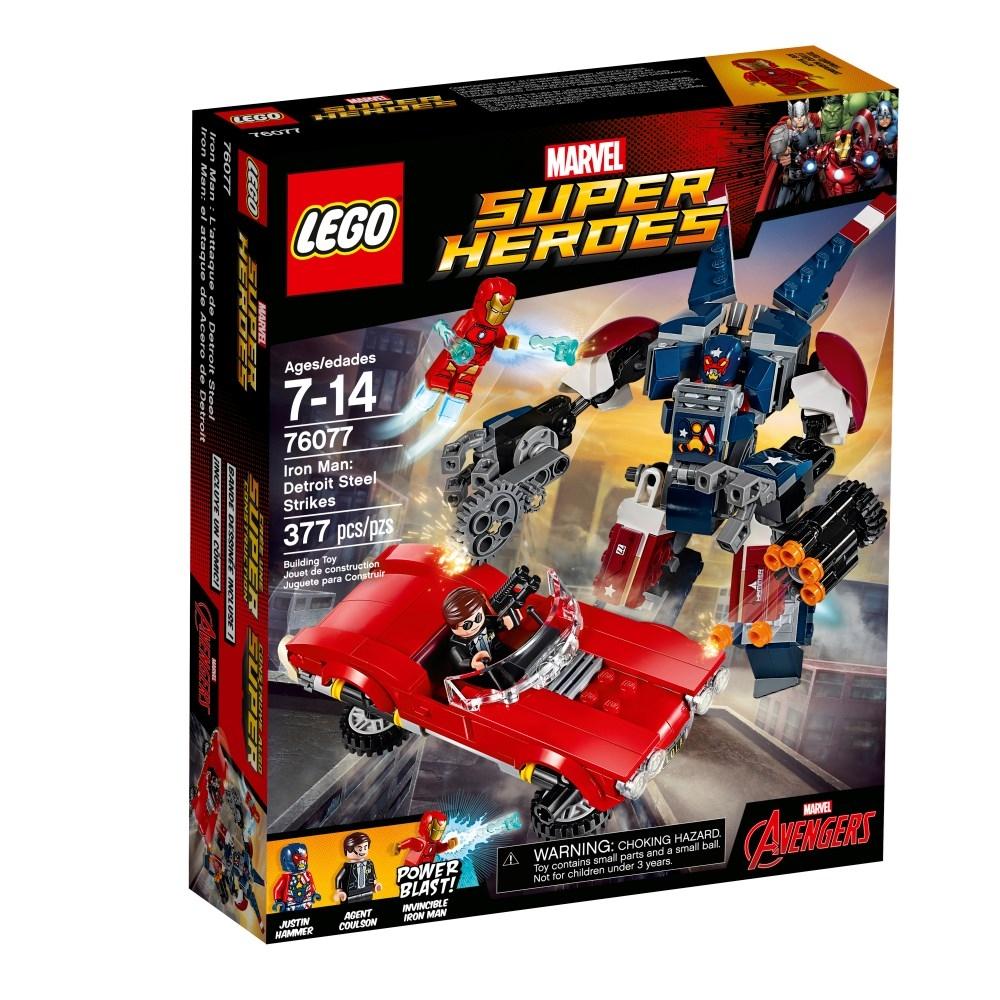 LEGO Super Heroes (76077) Iron Man: Detroit Steels Anfaller