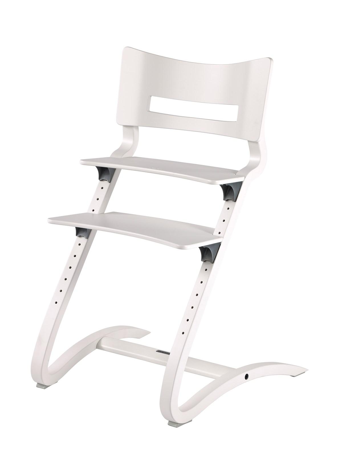 Leander Leander højstol u/bøjle - hvid, 1 stk. på lager fra pixizoo