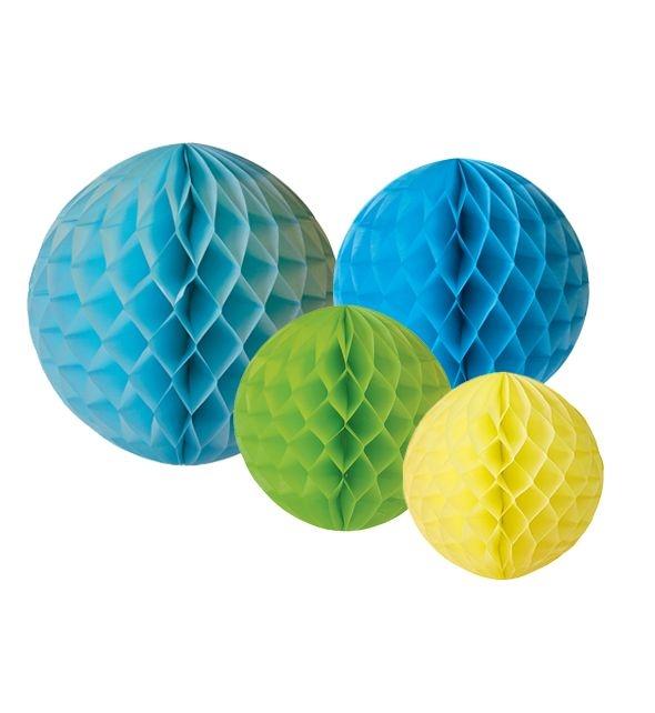 JaBaDaBaDo Honeycombs PomPoms - Blå