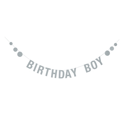 Bloomingville Birthday Boy Girlang - Blå