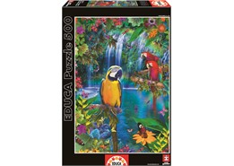 Educa – Educa - birds in tropical land (500 pcs), 6 stk. på lager på pixizoo