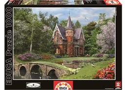 Educa - cobbled bridge cottage (1000 pcs), 2 stk. på lager fra Educa på pixizoo