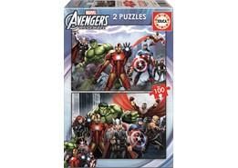 Educa 2x100 Avengers Pussel