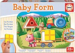 Educa Educa - baby form (4 puslespil), +10 stk. på lager på pixizoo