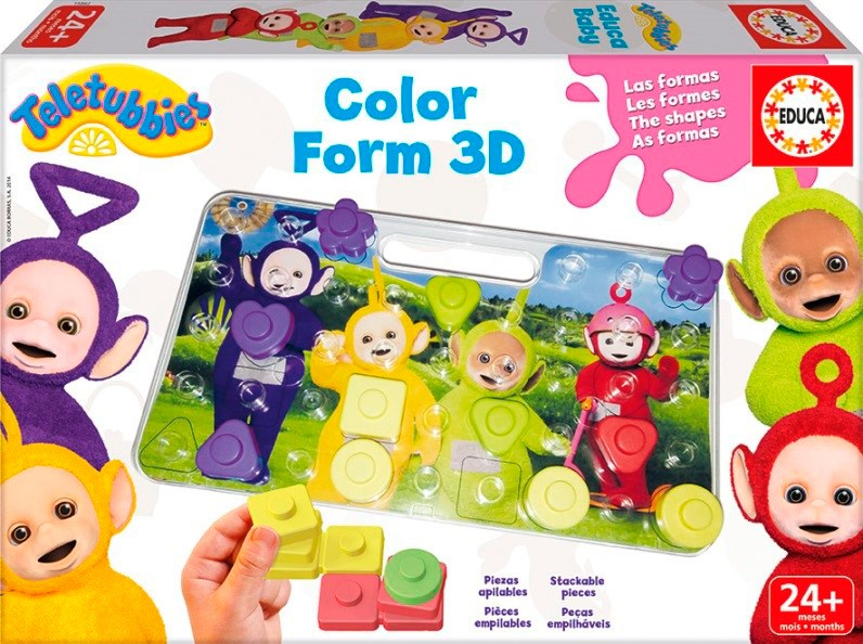 Educa Baby 3D Färg Pussel