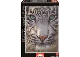 Educa - white tiger (500 pcs), 6 stk. på lager fra Educa fra pixizoo