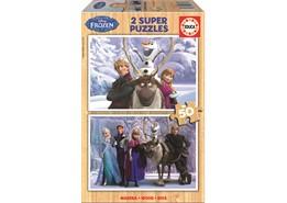 Educa 2x50 Frozen Pussel