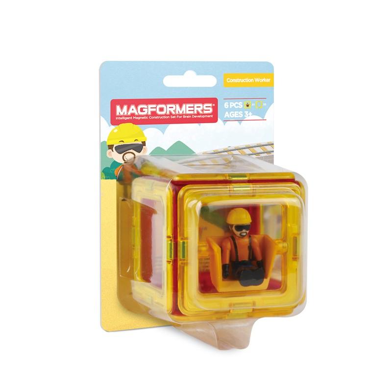Magformers Figure Plus Construction Set