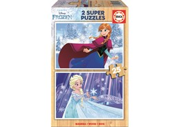 Educa 2x25 New Frozen Pussel