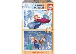 Educa 2x50 New Frozen Pussel