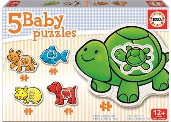 Educa 5 Baby Pussel