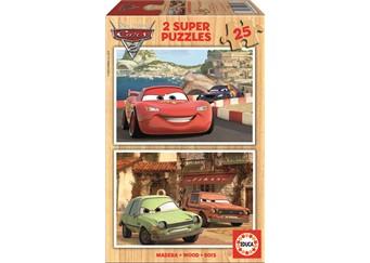 Educa 2x25 Cars Pussel