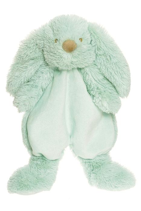 Teddykompaniet Lolli Bunnies Kanin Snuttefilt - Mint