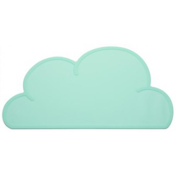 Kg design Kg design cloud dækkeserviet - aqua, 4 stk. på lager på pixizoo