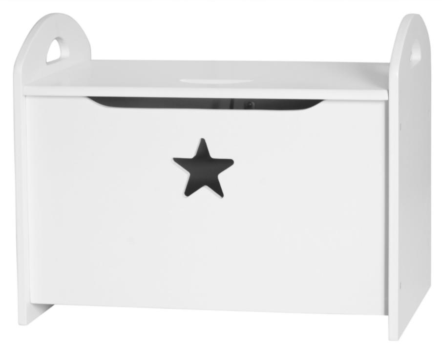 Kids concept Kids concept opbevaringskiste - hvid , 2 stk. på lager fra pixizoo