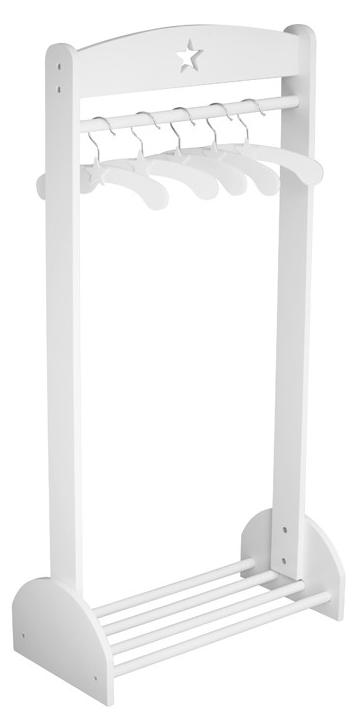 Kids concept tøjstativ - hvid, 1 stk. på lager fra Kids concept fra pixizoo
