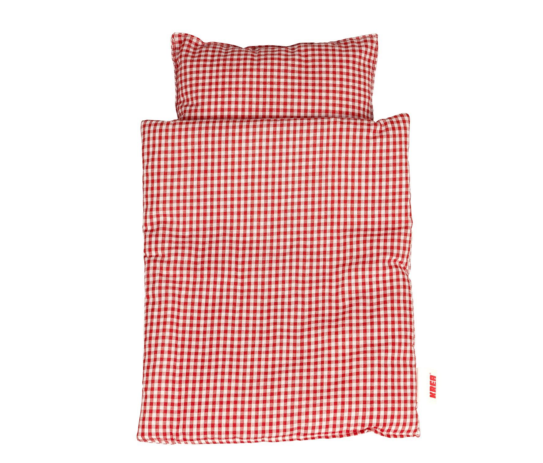KREA Docksängkläder - Röd