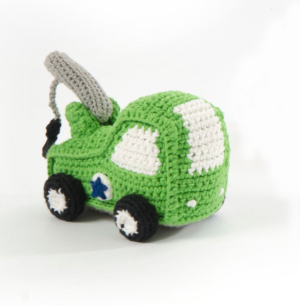 Smallstuff Mjukisdjur Kranbil - Grön