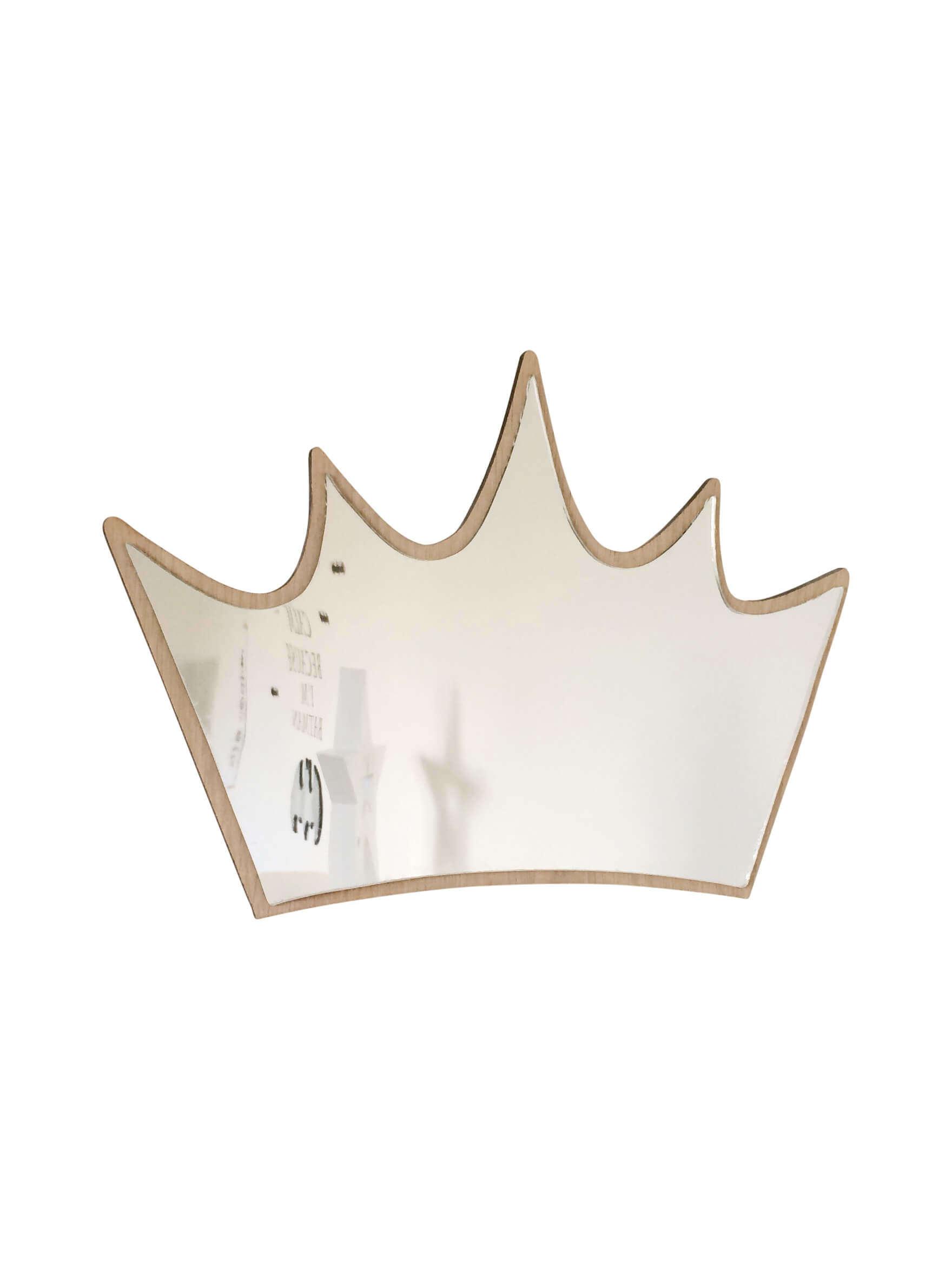 Maseliving Maseliving - krone spejl, 8 stk. på lager på pixizoo
