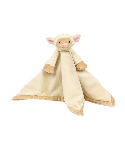 Teddykompaniet Diinglisar Snuttefilt Lamm - Vit