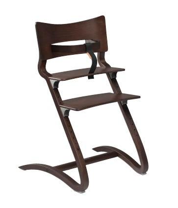 Leander – Leander højstol m. bøjle - valnød fra pixizoo