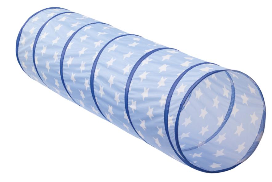 Kids concept legetunnel - blå , 4 stk. på lager fra Kids concept på pixizoo