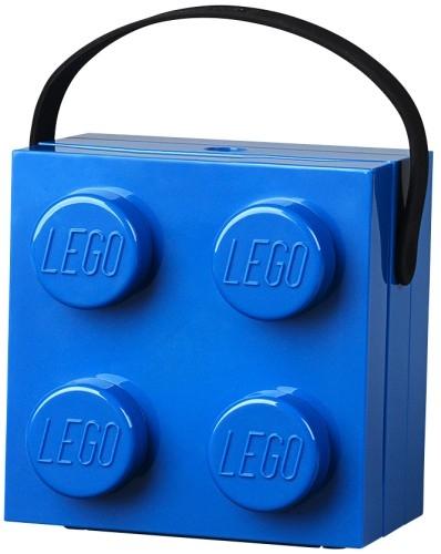 LEGO® Matlåda med handtag Blå