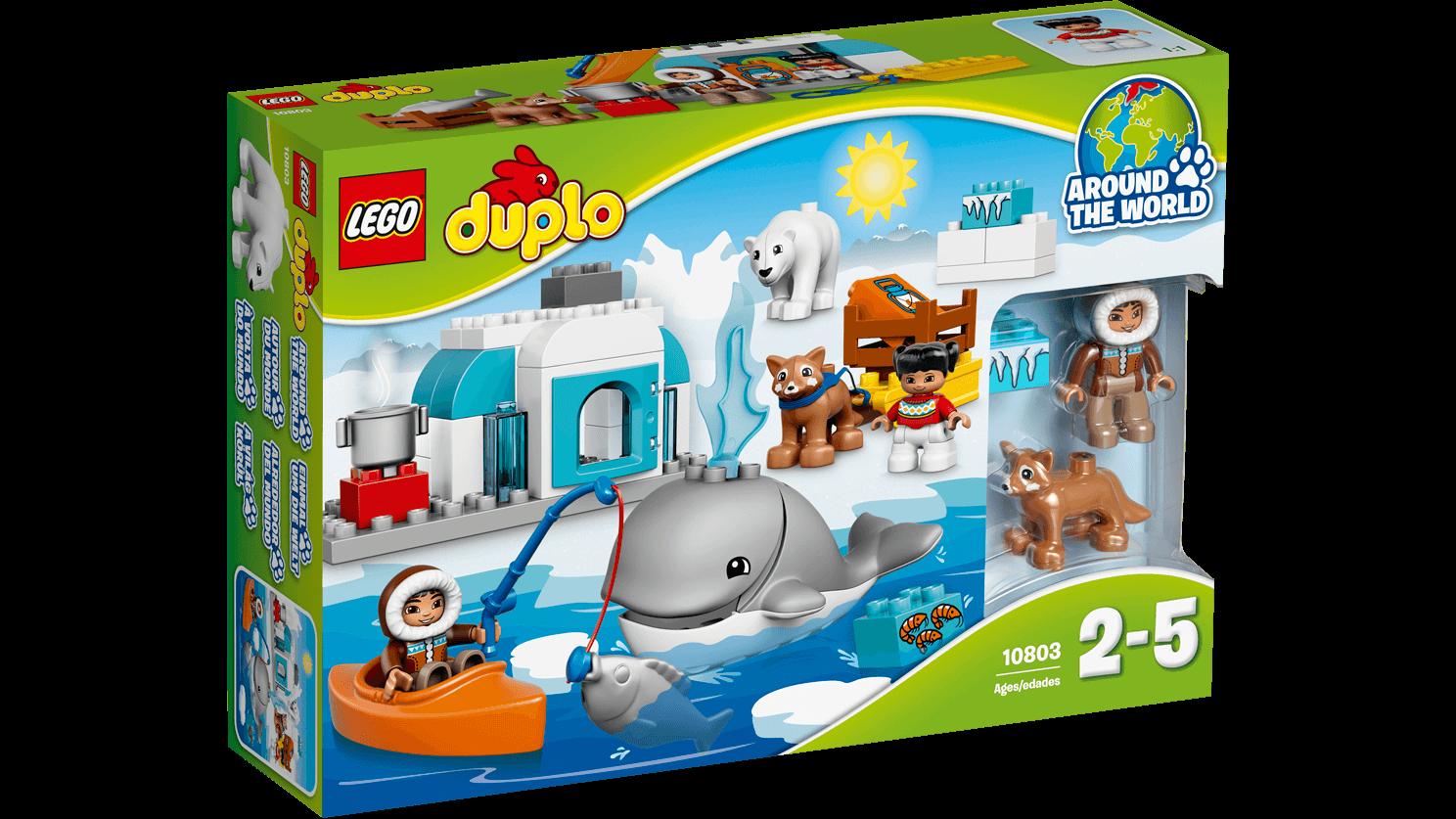 Lego duplo – Lego duplo - arctic, 1 stk. på lager fra pixizoo