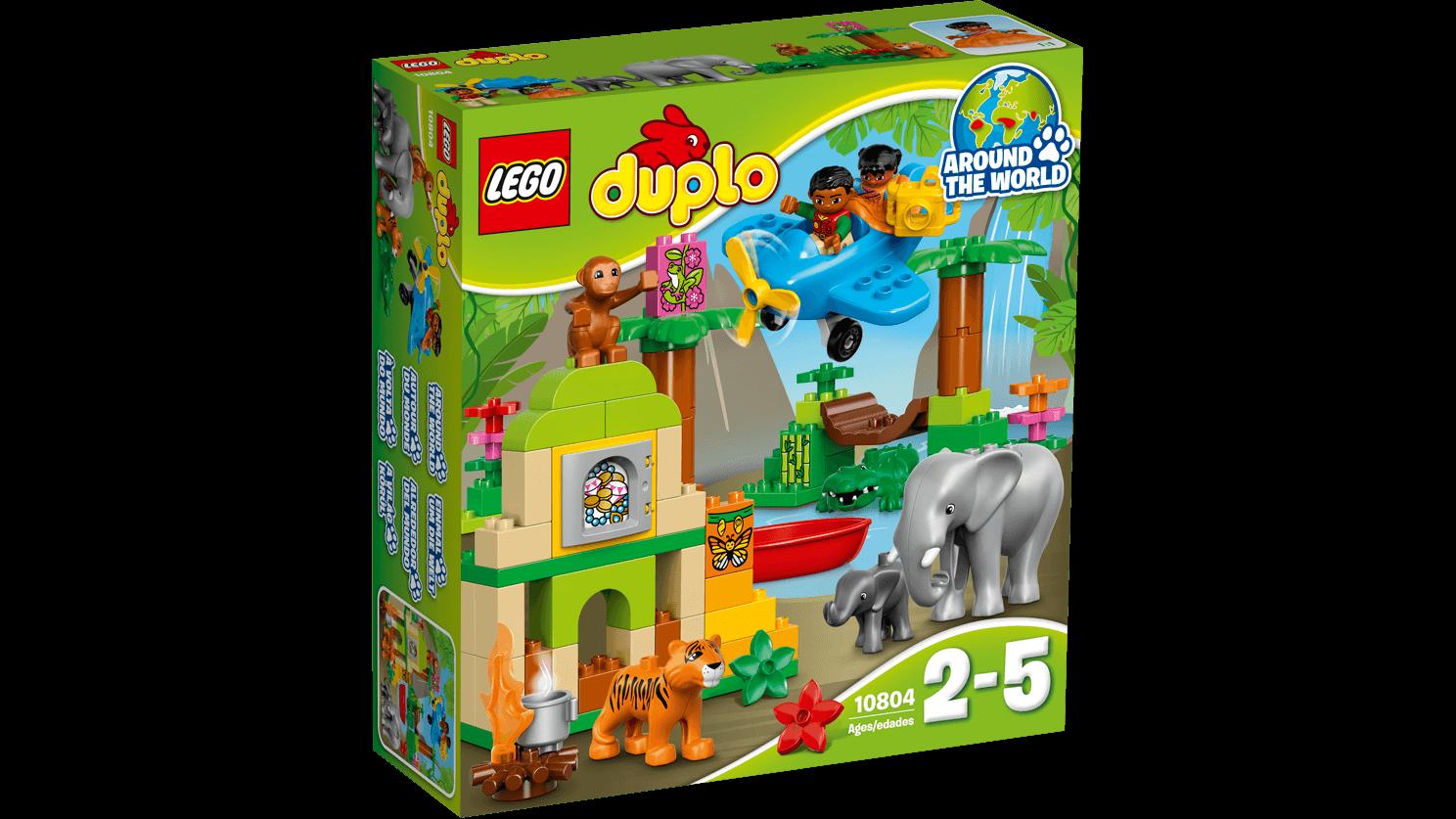 Lego duplo - jungle, 2 stk. på lager fra Lego duplo fra pixizoo