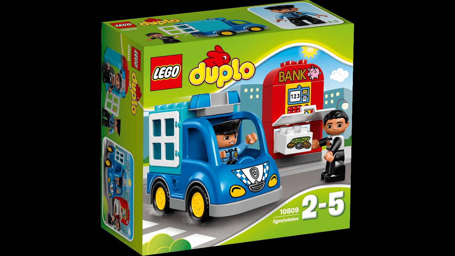 Lego duplo - politipatrulje, 2 stk. på lager fra Lego duplo på pixizoo