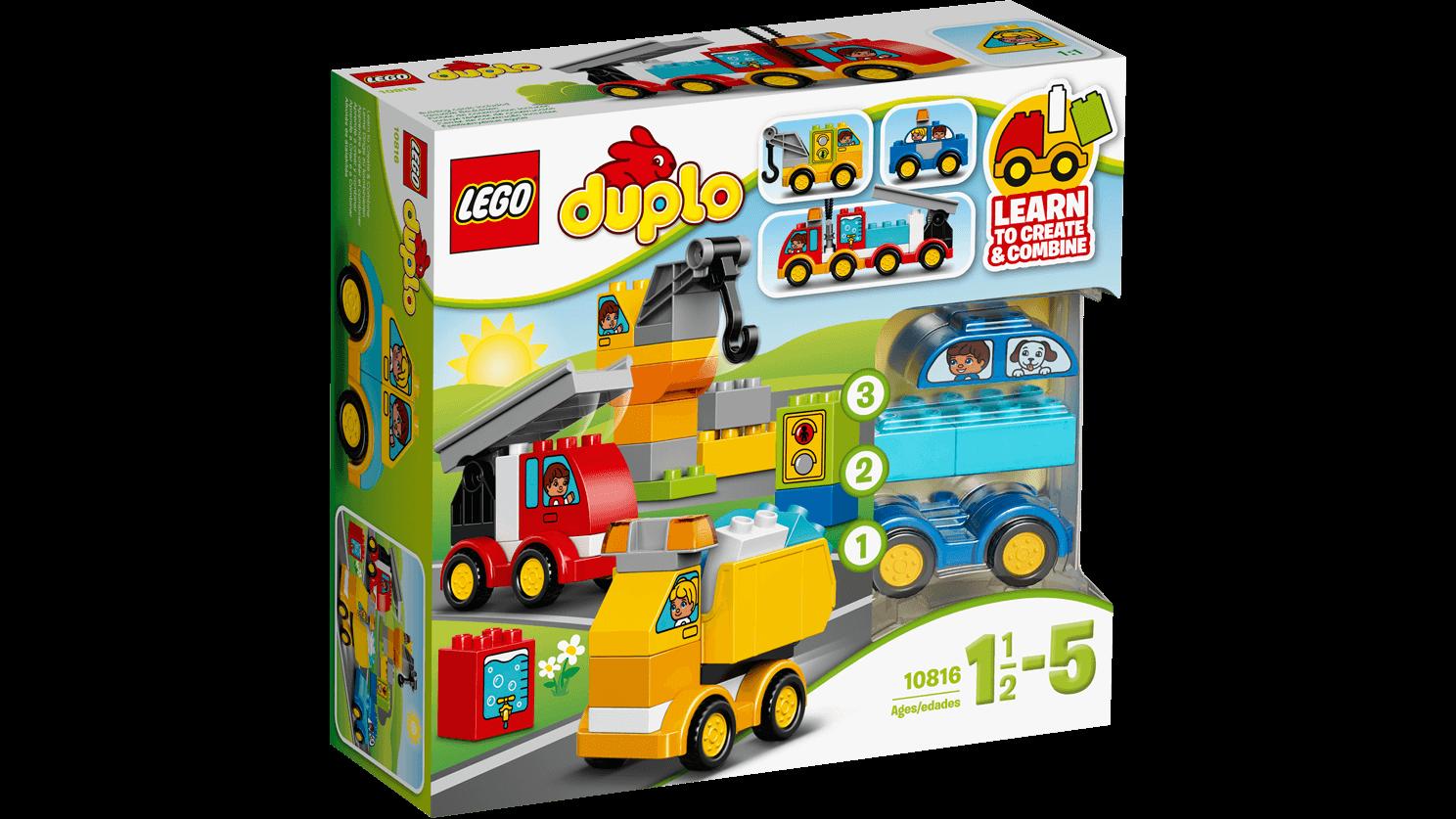 Lego duplo - min første biler og lastbiler, 3 stk. på lager fra Lego duplo på pixizoo