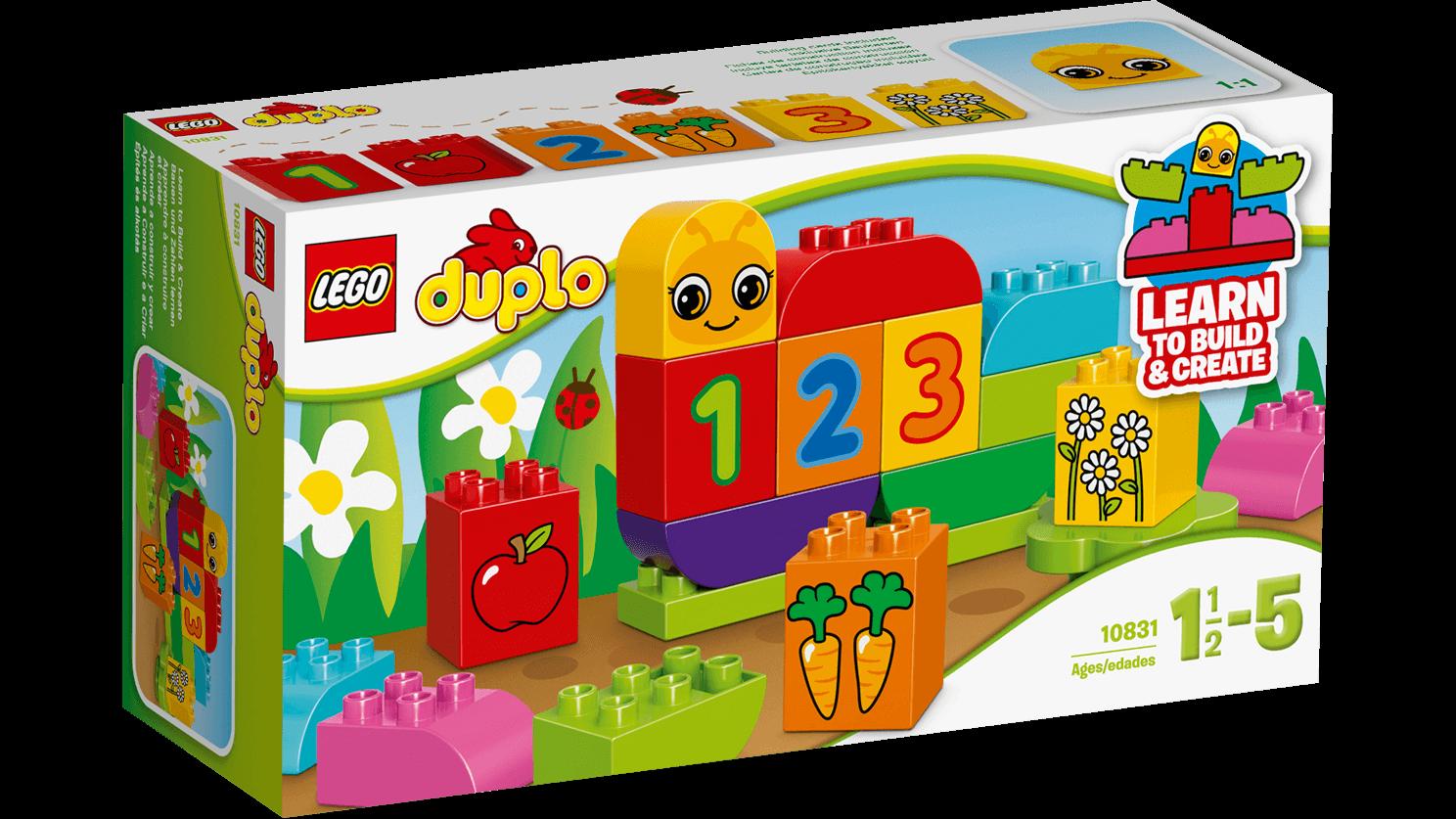 Lego duplo – Lego duplo - min første kålorm, 6 stk. på lager fra pixizoo