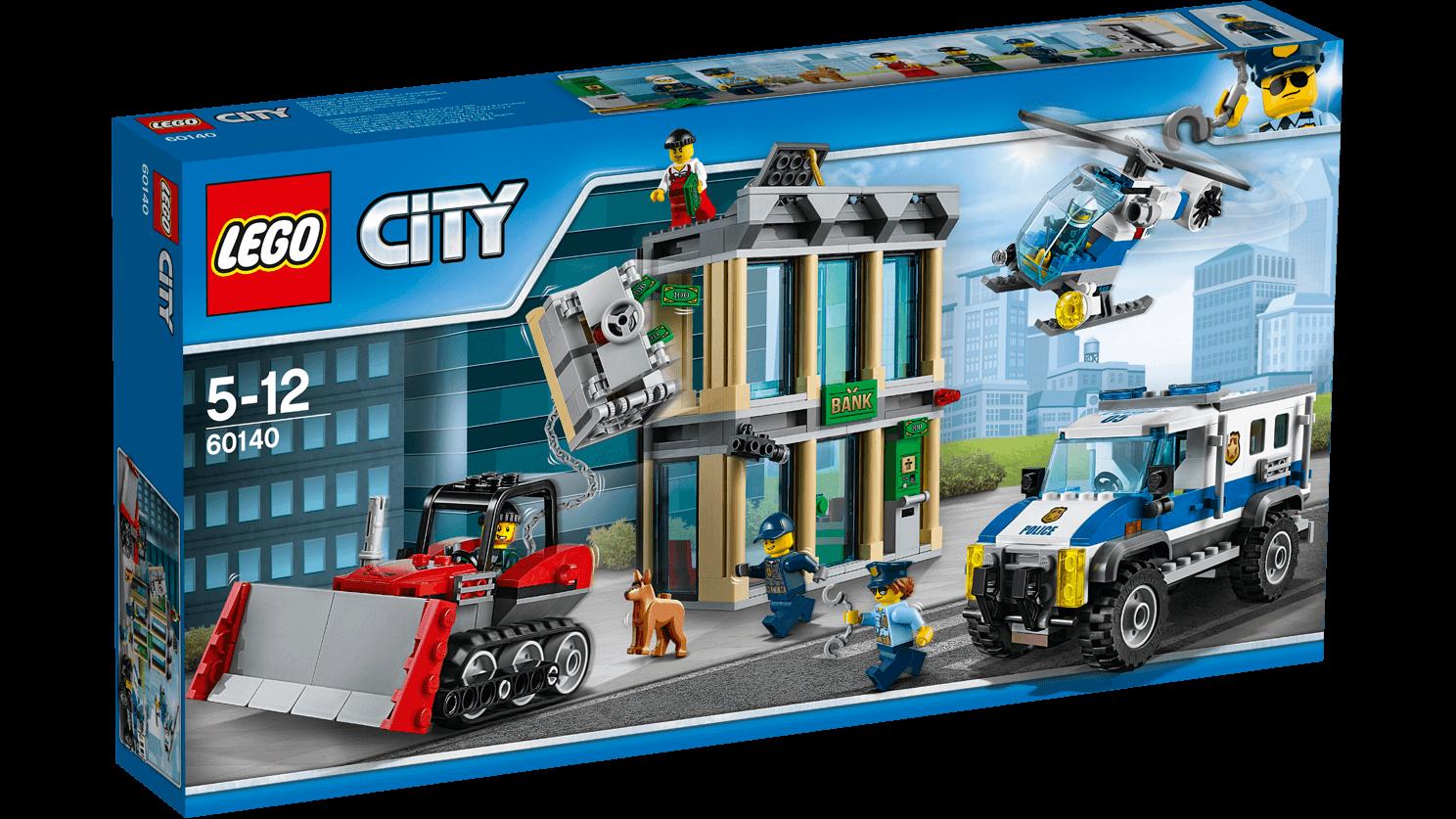 LEGO City (60140) Inbrott med Bulldozer