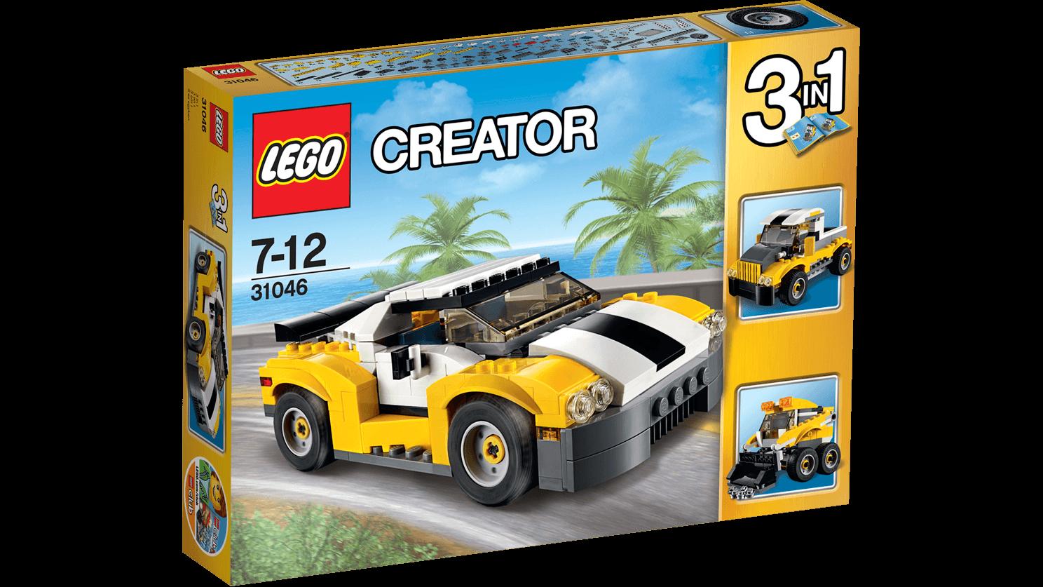 Lego creator Lego creator - hurtig bil, 10 stk. på lager fra pixizoo