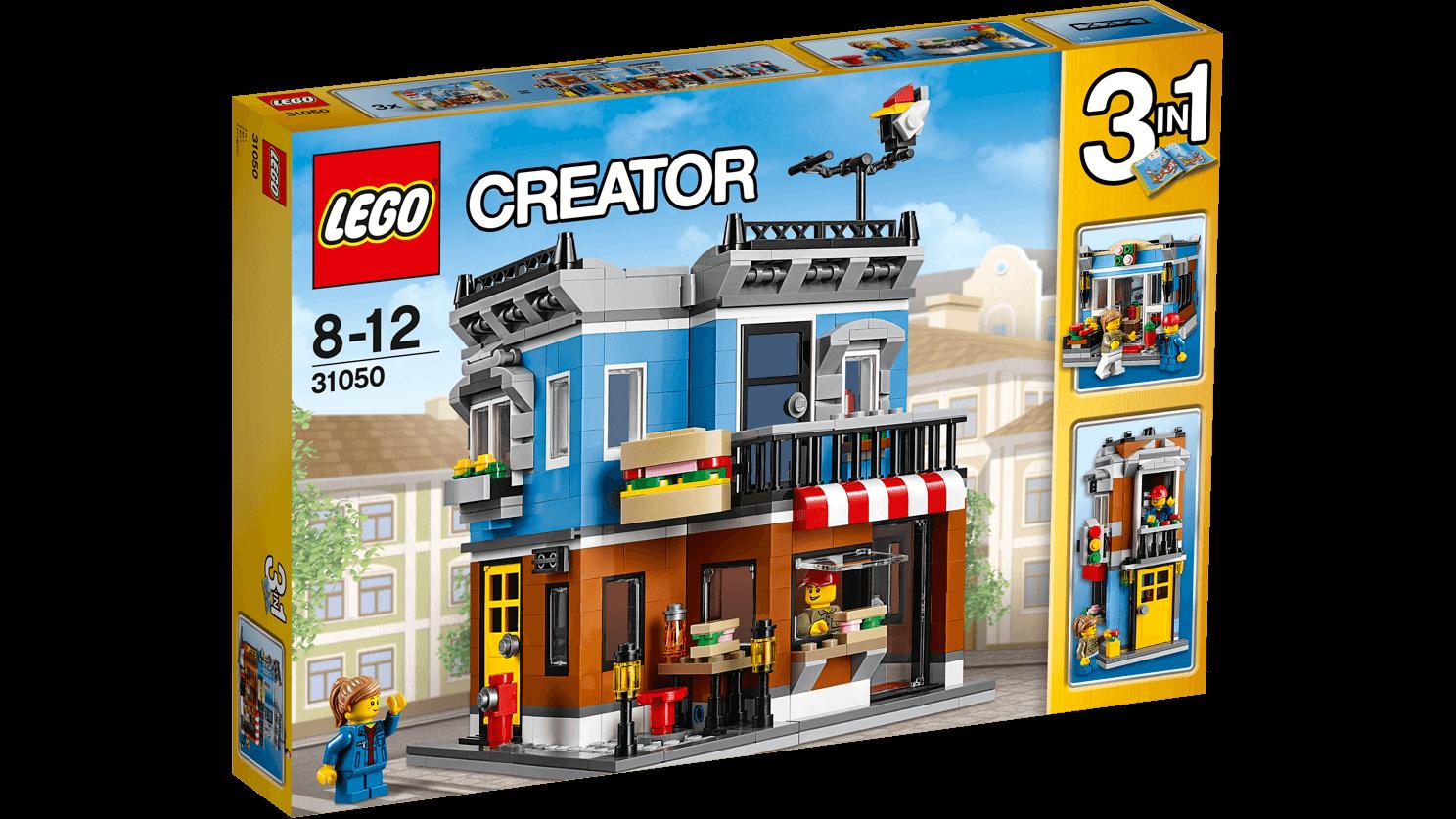Lego creator - delikatesseforretning, 5 stk. på lager fra Lego creator fra pixizoo