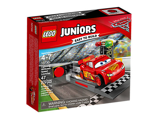 LEGO Juniors (10730) Cars 3 Blixten McQueen Snabbstart
