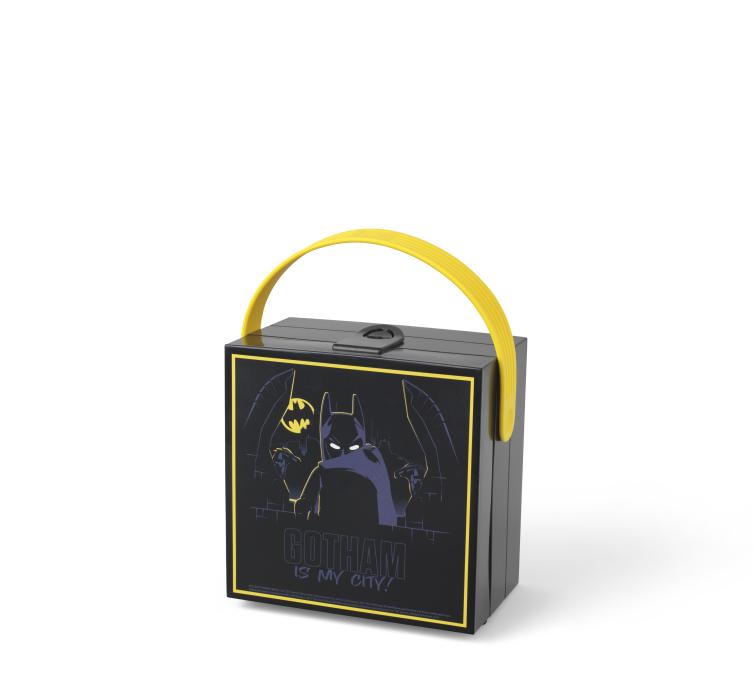 Lego Batman Matlåda med Handtag - Svart