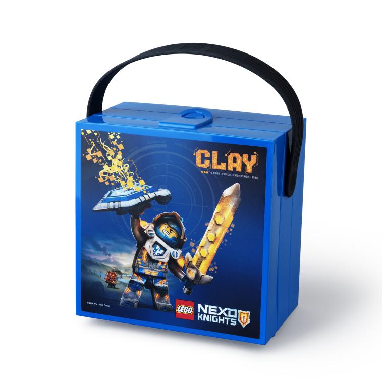 Lego Nexo Knights Matlåda med Handtag - Blå