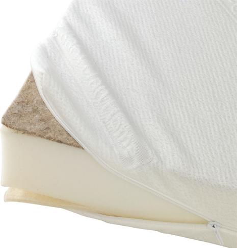 Baby dan – Baby dan comfort vuggemadras 40x84 cm - hvid, 1 stk. på lager fra pixizoo