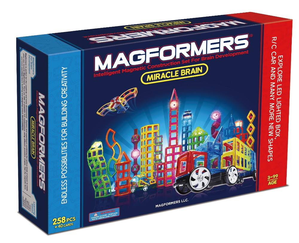 Magformers Magformers miracle brain set, 5 stk. på lager fra pixizoo