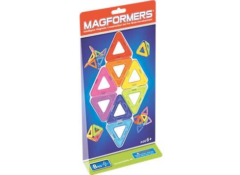 Magformers-8 konstruktion, +10 stk. på lager fra Magformers fra pixizoo