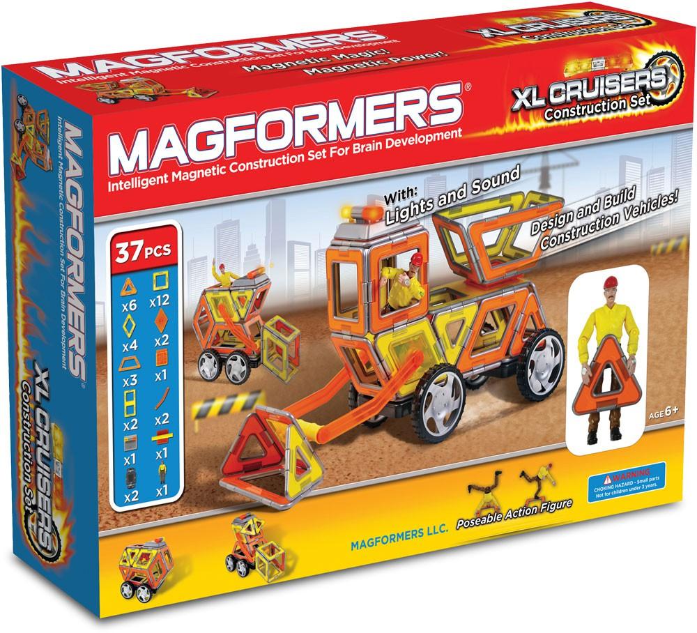 Magformers – Magformers xl cruisers construction set, +10 stk. på lager på pixizoo