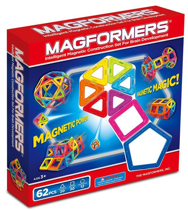 Magformers Magformers - 62, +10 stk. på lager på pixizoo